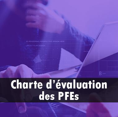 Charte d'évaluation des PFEs